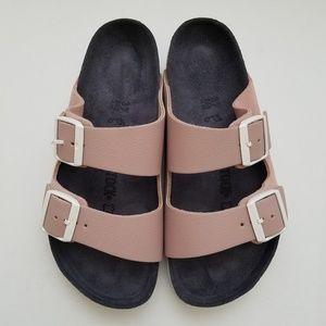 Birkenstock Arizona Rose Pink Suede Sandals 37